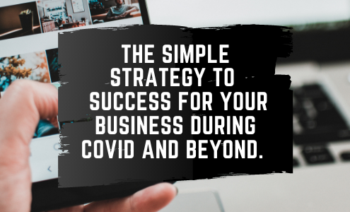 featured image for the article A simple strategy for your business during covid and beyond